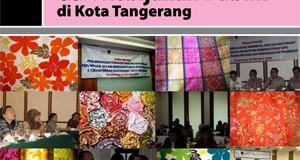 dokumentasi kampanye publik mendukung kesetaraan hak konstitusional perempuan dalam proses kebijakan publik di kota tangerang feb 2010