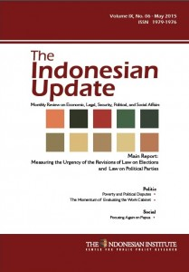 The Indonesian Update  Volume IX, No. 06 - May 2015