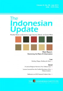 The-Indonesian-Update--Volume-IX,-No--08---July-2015-(English)
