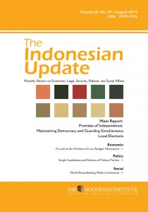 The-Indonesian-Update-Volume-IX-No.-09-August-2015-(English)