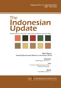 The-Indonesian-Update--Volume-IX,-No.-10---September-2015