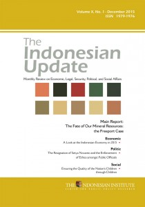 The-Indonesian-Update-—-Volume-X,-No.-1--December--2015