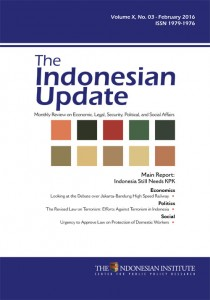 The-Indonesian-Update-Volume-X-No-3-February--2016