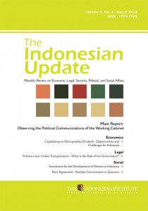 The Indonesian Update — Volume X, No. 4 – March  2016