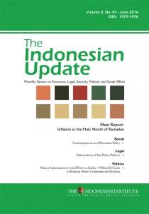 The-Indonesian-Update-—-Volume-X,-No.-7-–-June--2016