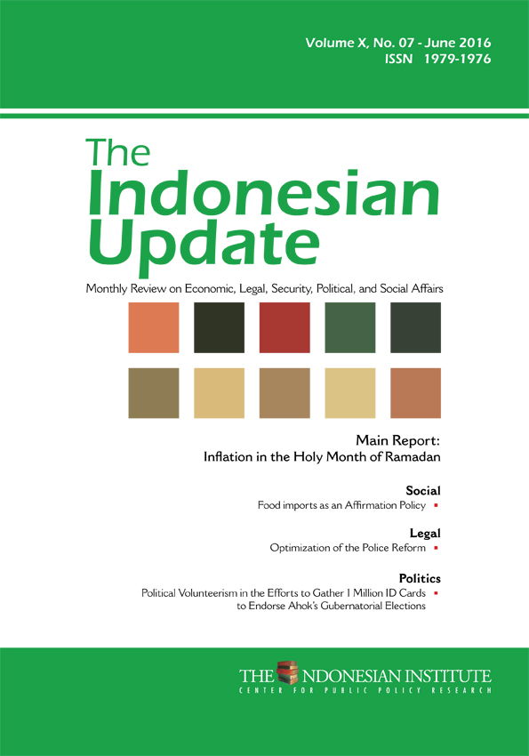 The Indonesian Update — Volume X, No. 7 – June  2016