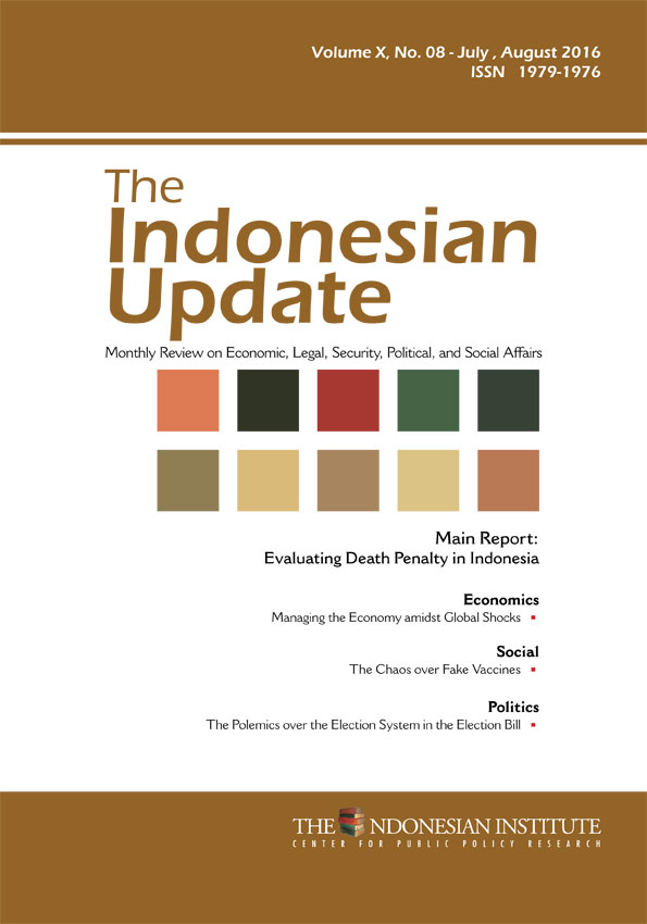 The Indonesian Update — Volume X, No. 8 – July, August 2016 (English Version)
