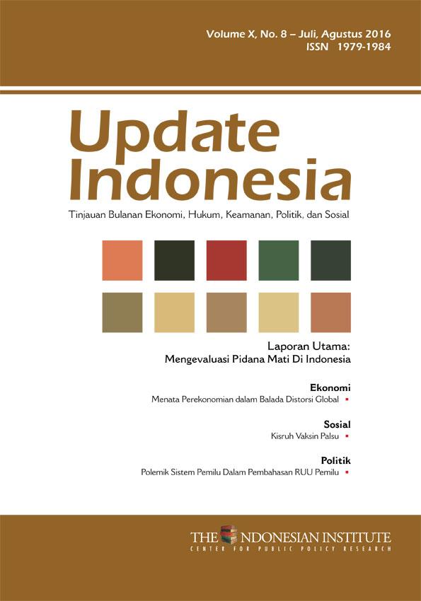 Update Indonesia — Volume X, No. 8 – Juli, Agustus 2016 (Bahasa Indonesia)