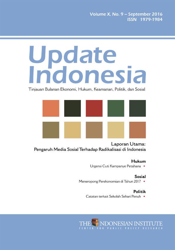 Update Indonesia — Volume X, No. 9 – September 2016 (Bahasa Indonesia)