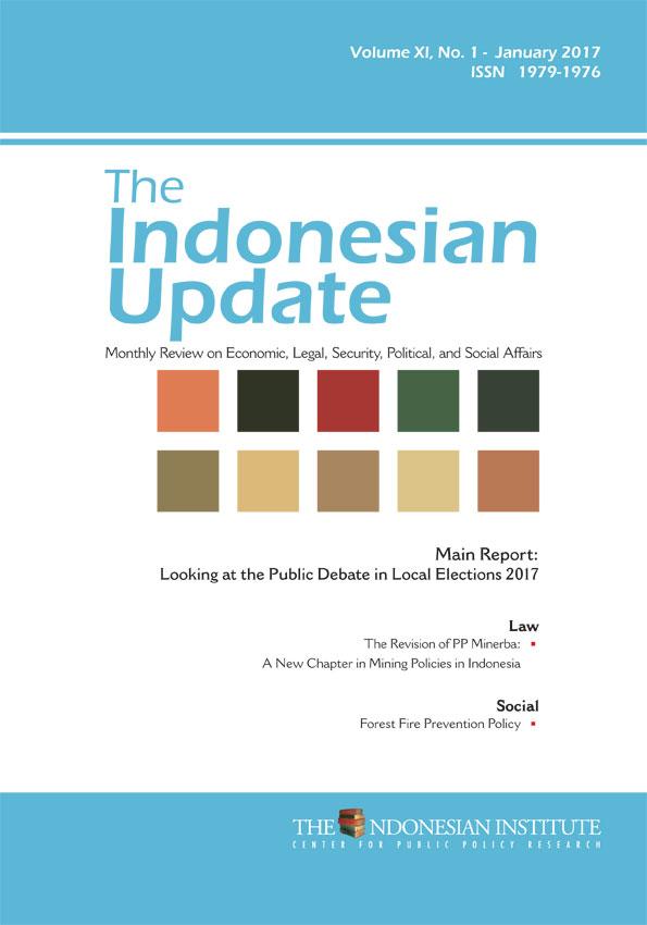 The Indonesian Update — Volume XI, No.1 – January 2017 (English Version)