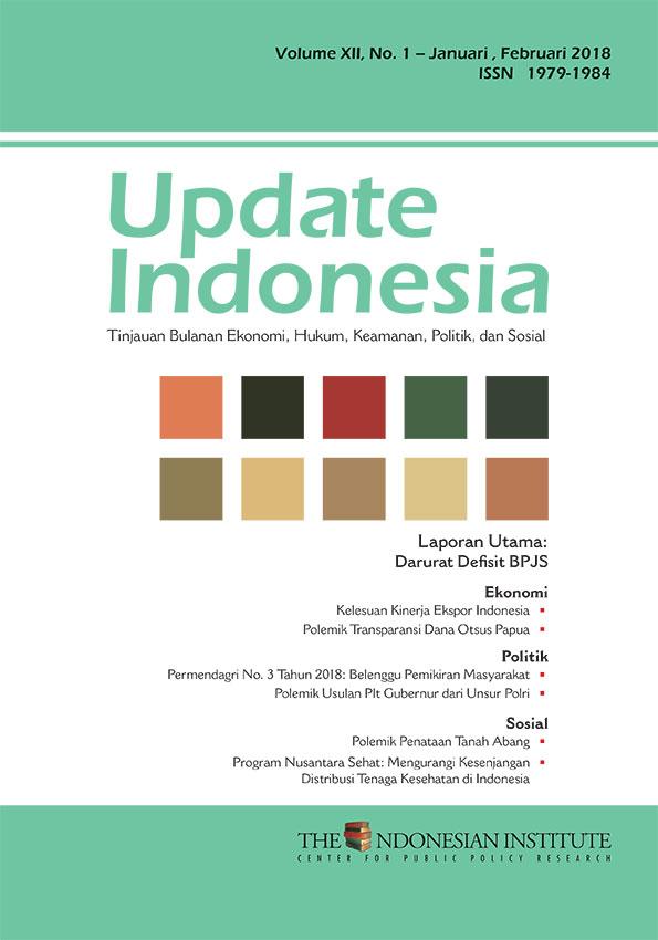 Update Indonesia — Volume XII, No. 1 – Januari-Februari 2018 (Bahasa Indonesia)