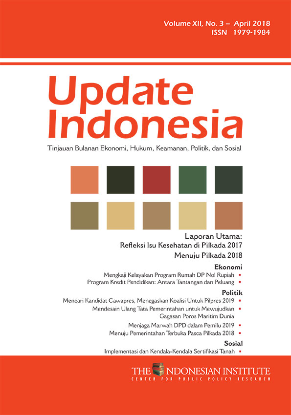 Update Indonesia — Volume XII, No. 3 – April 2018 (Bahasa Indonesia)