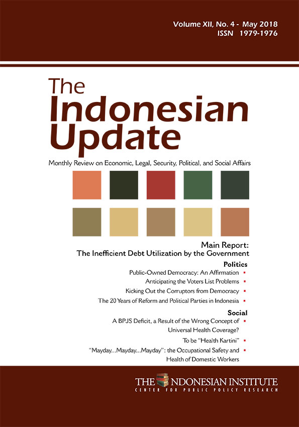 The Indonesia Update -Volume XII No. 4 May 2018 (English Version)