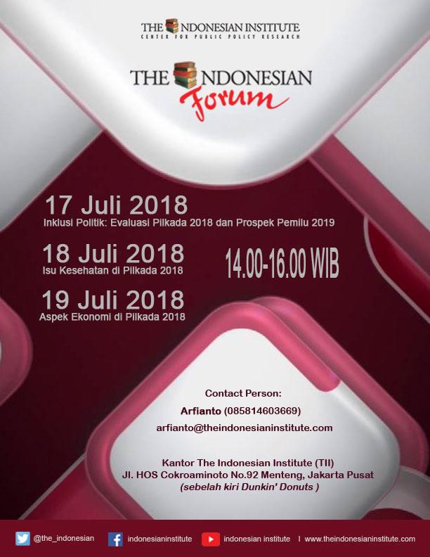 Agenda Diskusi TIF