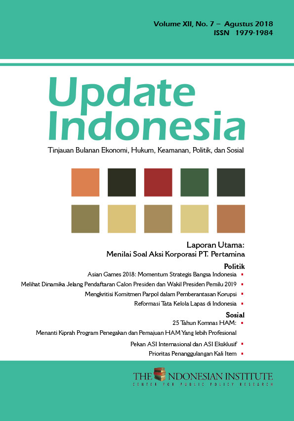 Update Indonesia – Volume XII, No. 7- Agustus 2018 (Bahasa Indonesia)