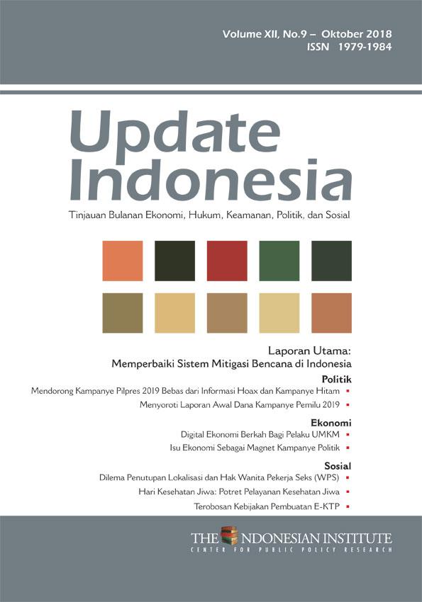 Update Indonesia Volume XII, No. 9 Oktober 2018 (Bahasa Indonesia)