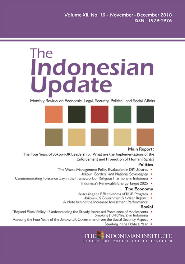 The Indonesian Update -Vol.XII, No. 10-November-Desember- (English Version)