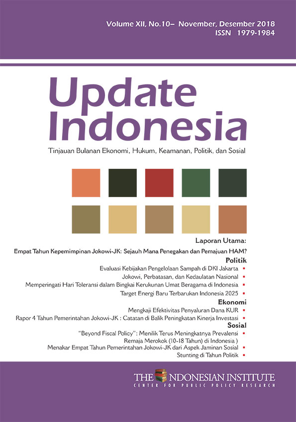 Update Indonesia-Volume XII No. 10-November Desember 2018 (Bahasa Indonesia)