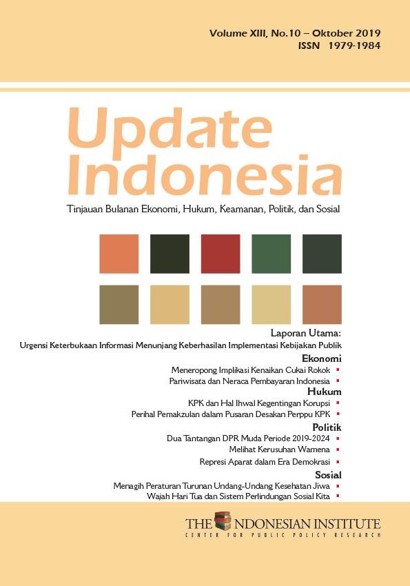 Update Indonesia — Volume XIII, No.10 – Oktober 2019 (Bahasa Indoneia)