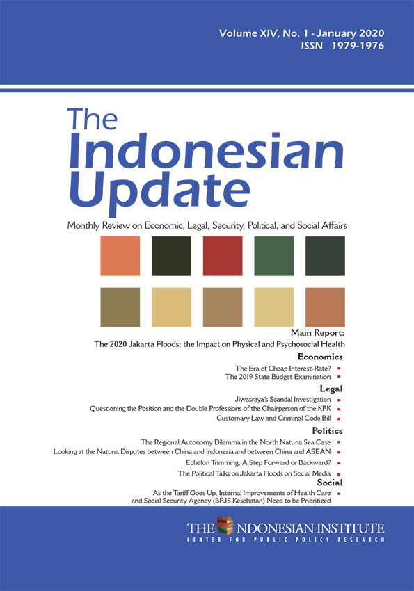 The Indonesian Update — Volume XIV, No.1- January 2020 (English Version)