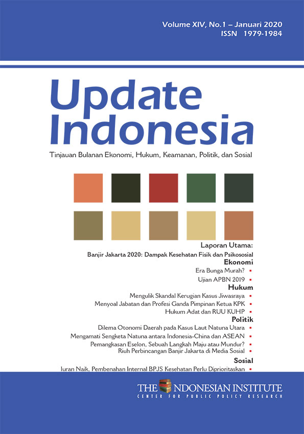 Update Indonesia — Volume XIV, No.1 – Januari 2020