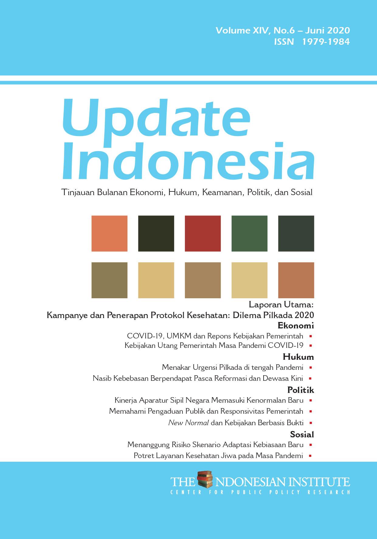 Update Indonesia — Volume XIV, No.6 – Juni 2020 (Bahasa Indonesia)