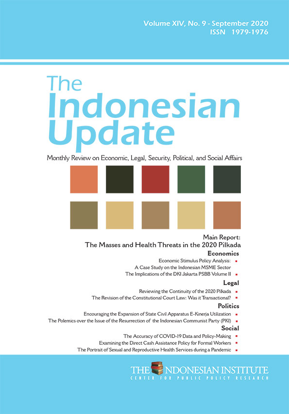 The Indonesian Update — Volume XIV, No.9 – September 2020 (English Version)