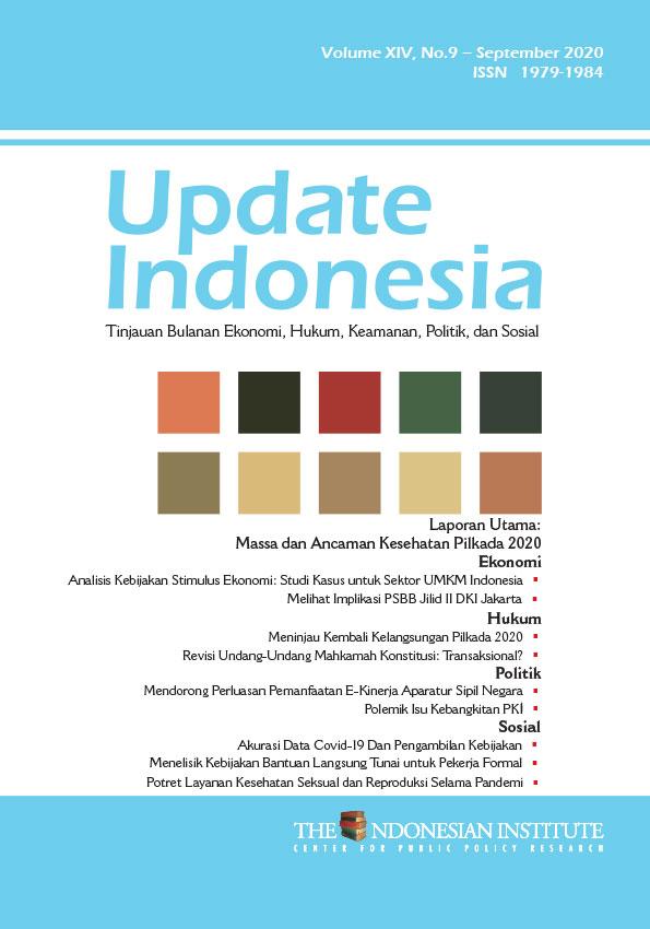 Update Indonesia — Volume XIV, No.9 – September 2020 (Bahasa Indonesia)